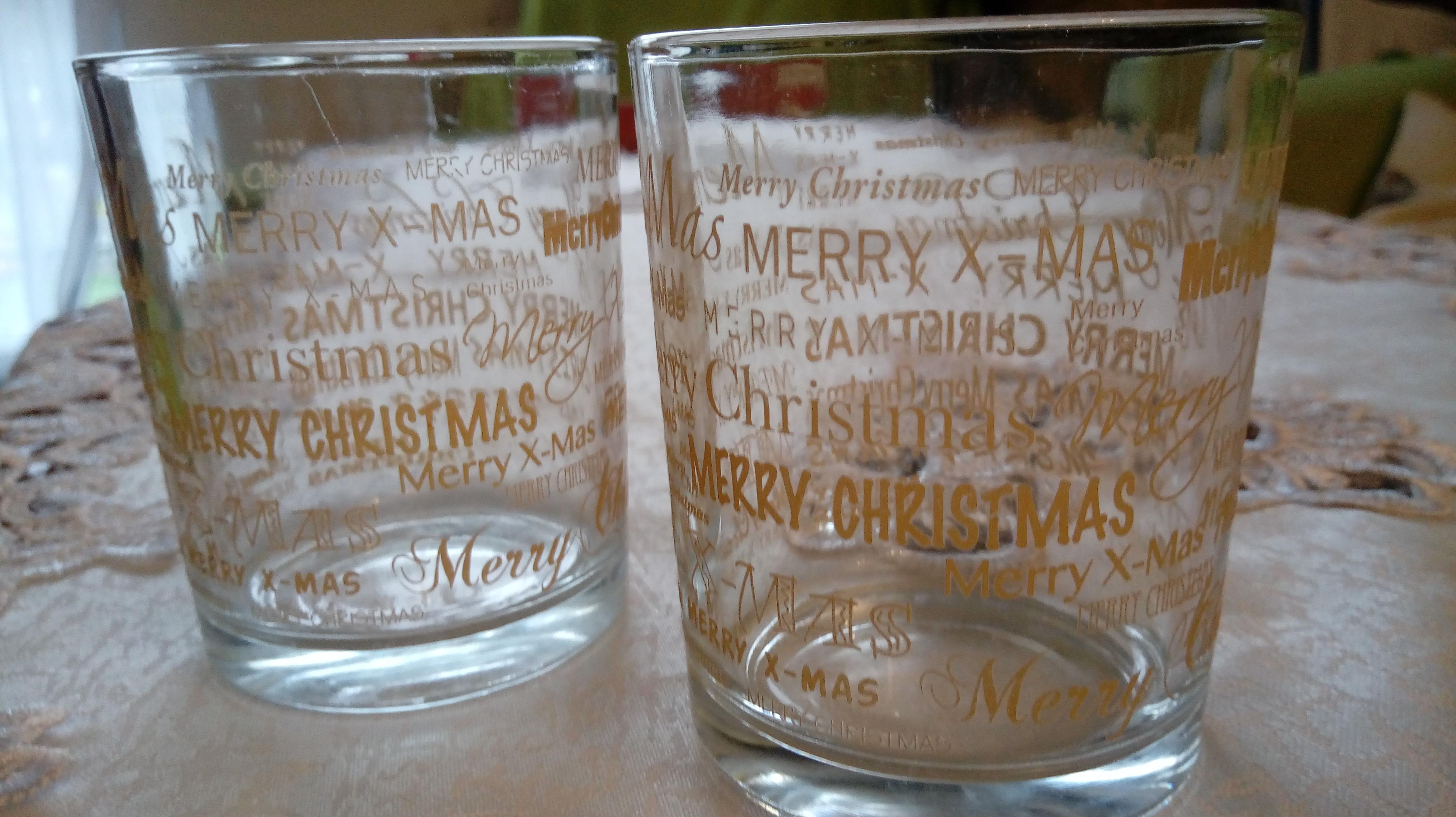 Ozdobne szklaneczki na tealighty