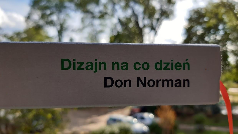 Dizajn na co dzień - Don Norman - recenzja książkiDizajn na co dzień - Don Norman - recenzja książki